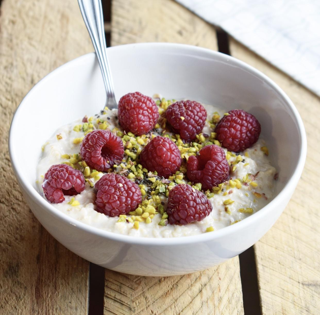 Porridge express Framboise & Pistache