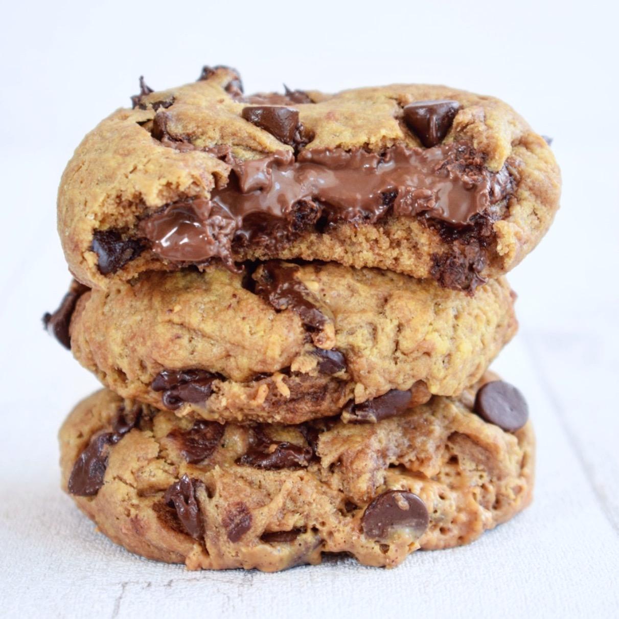 Cookies Coeur fondant au Nocciolata