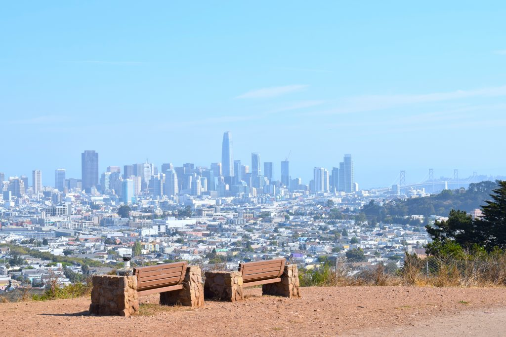 Vue de San Francisco