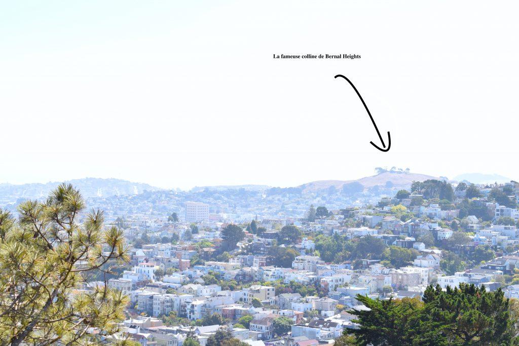 Vu de la colline au loin...