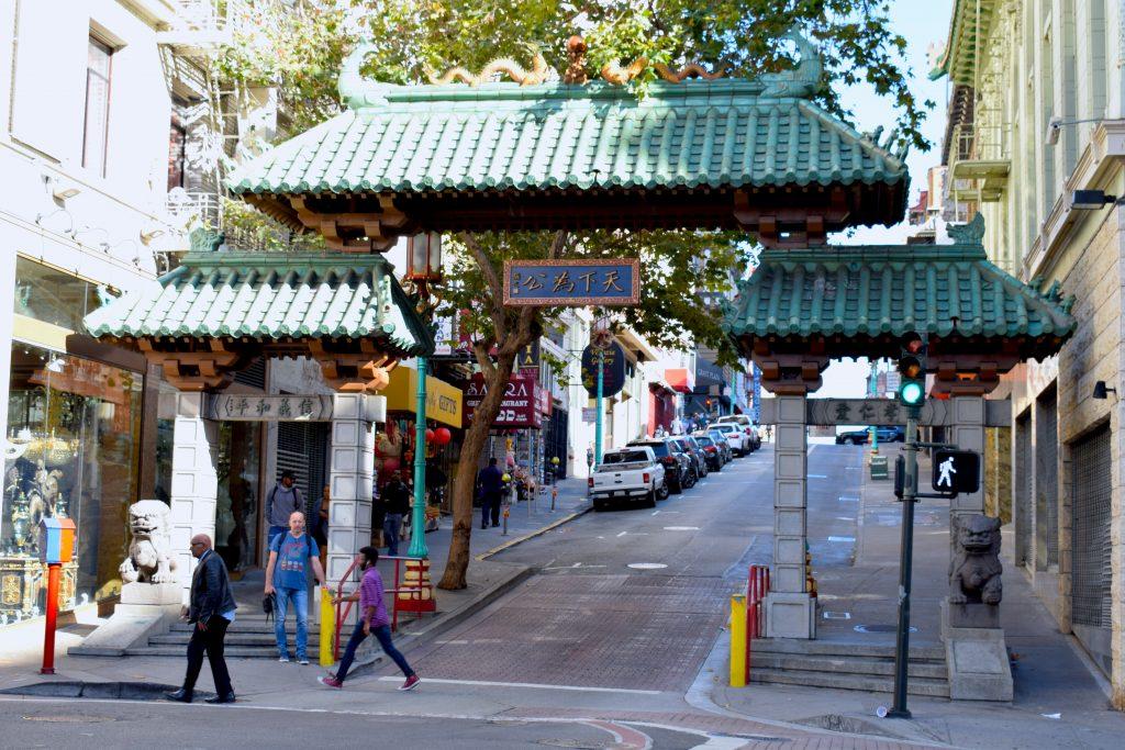 Le Chinatown Gate