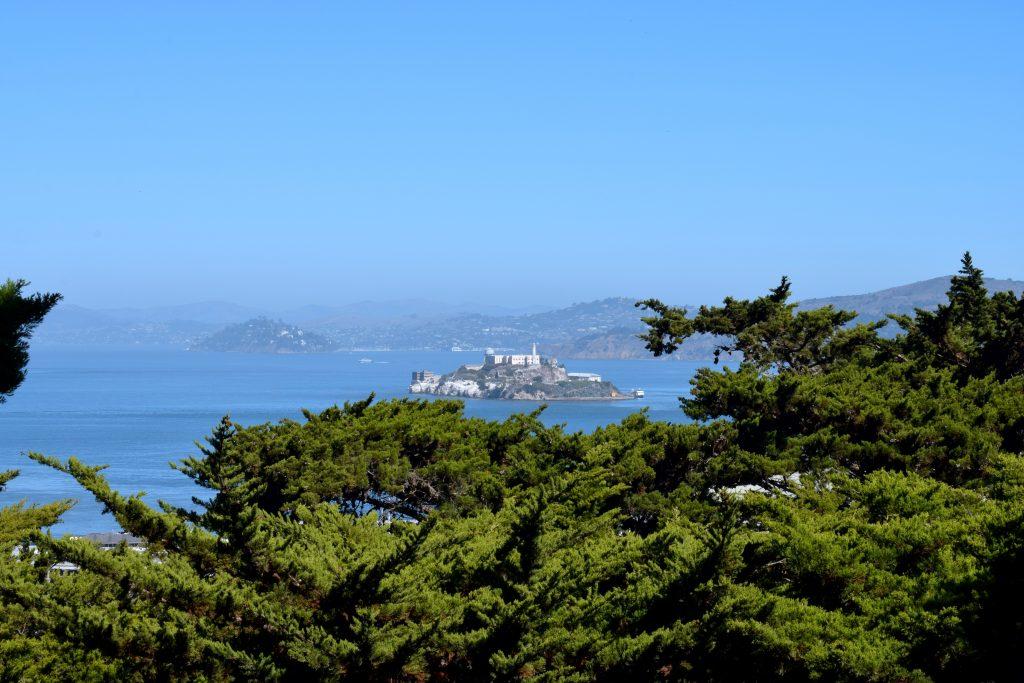 Vue sur Alcatraz