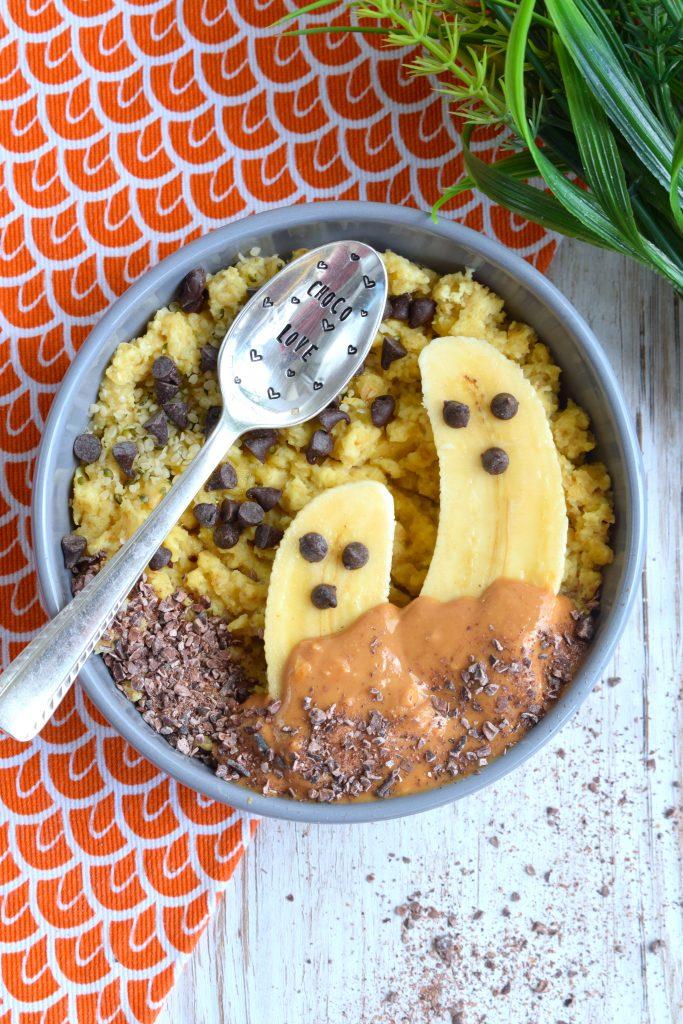 Porridge Cake Spécial Halloween