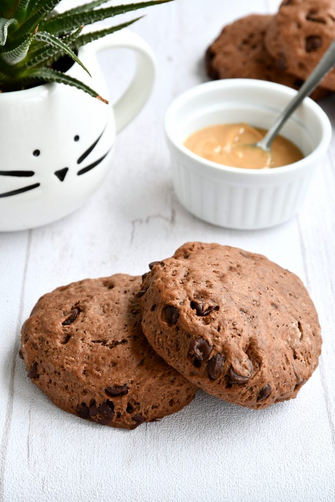recette de scones vegan double chocolat