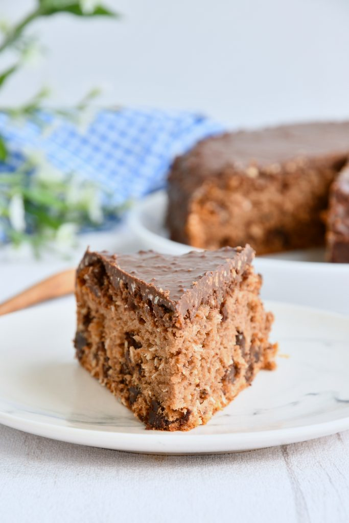 Gâteau au chocolat et à la noix de coco