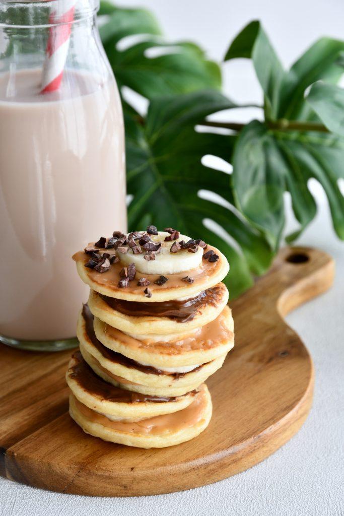 Pancakes aux petits suisses