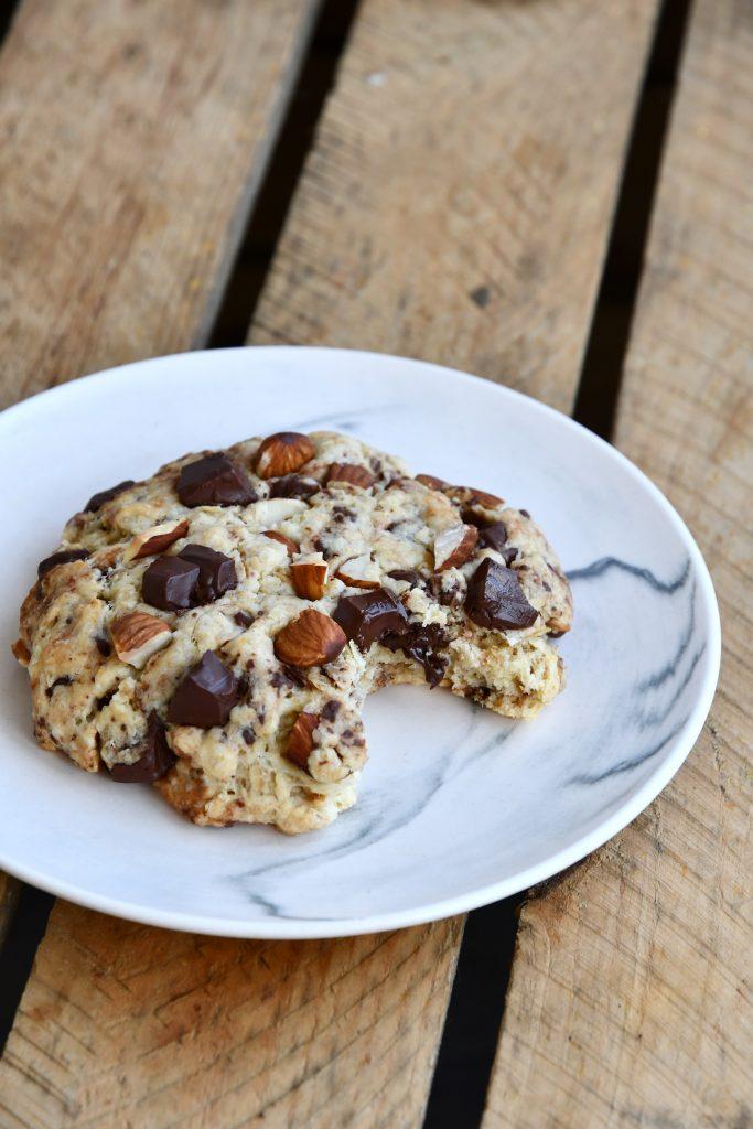 Cookies vegan chocolat et amandes
