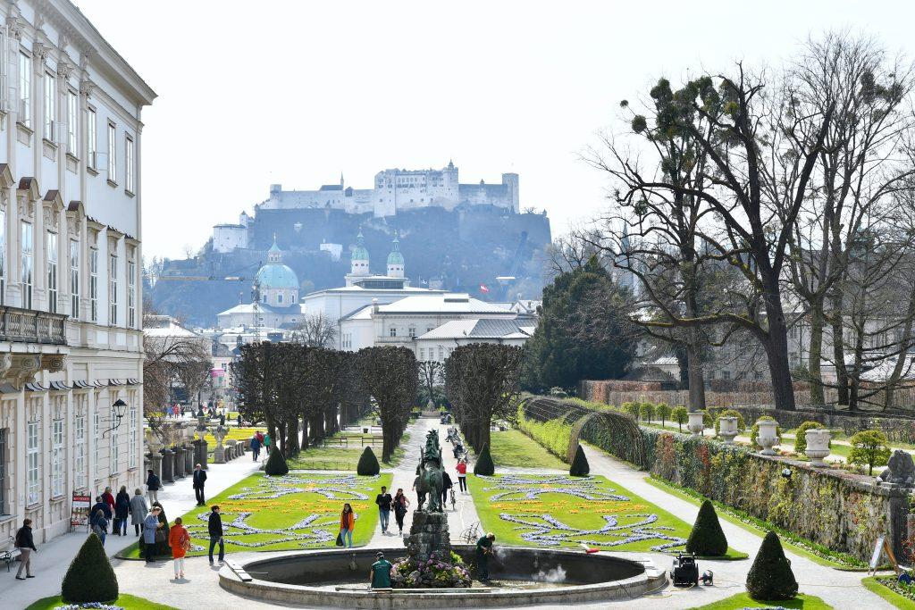Château de Mirabell et ses jardins