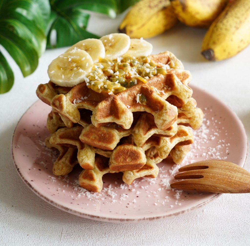 gaufres bananes