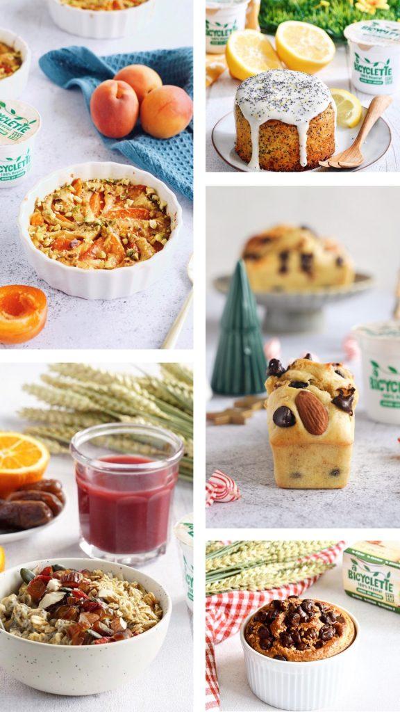 recettes a bicyclette desserts végétaux