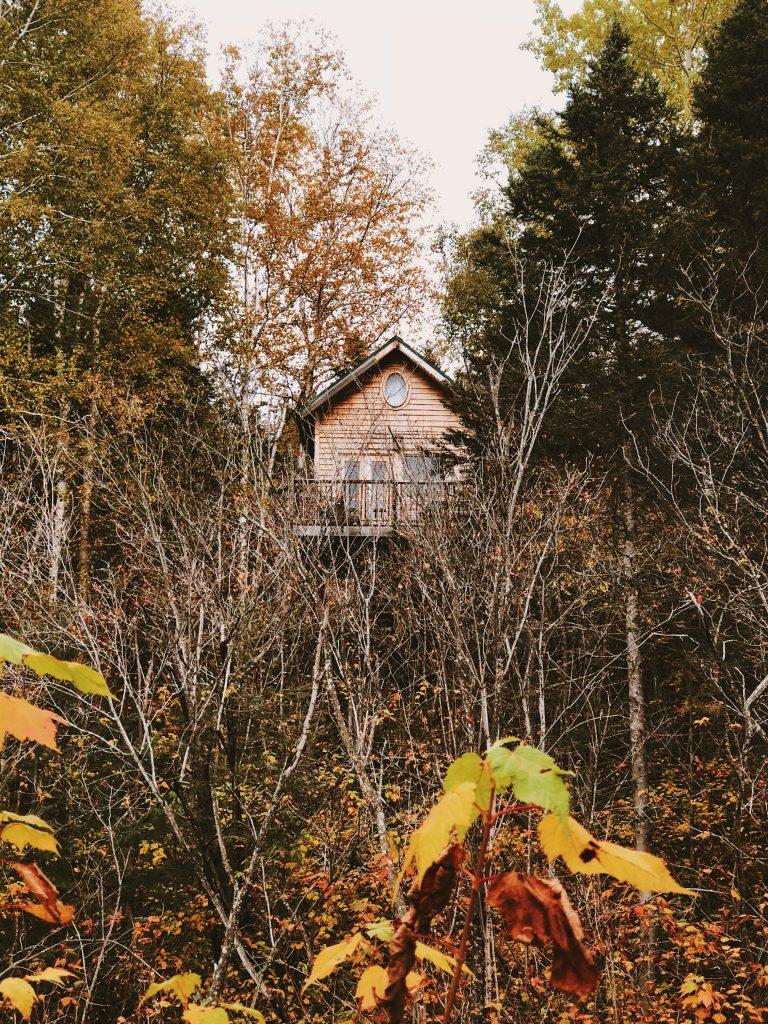 Québec : Cabane perchée