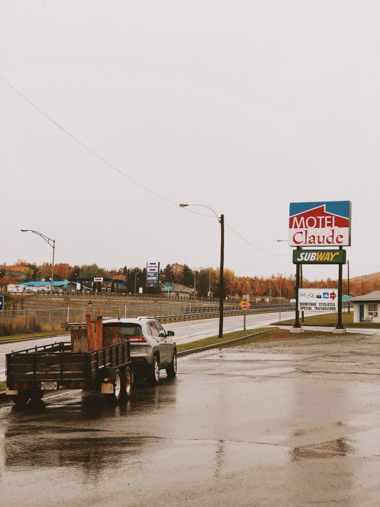 Route 17 : Québec