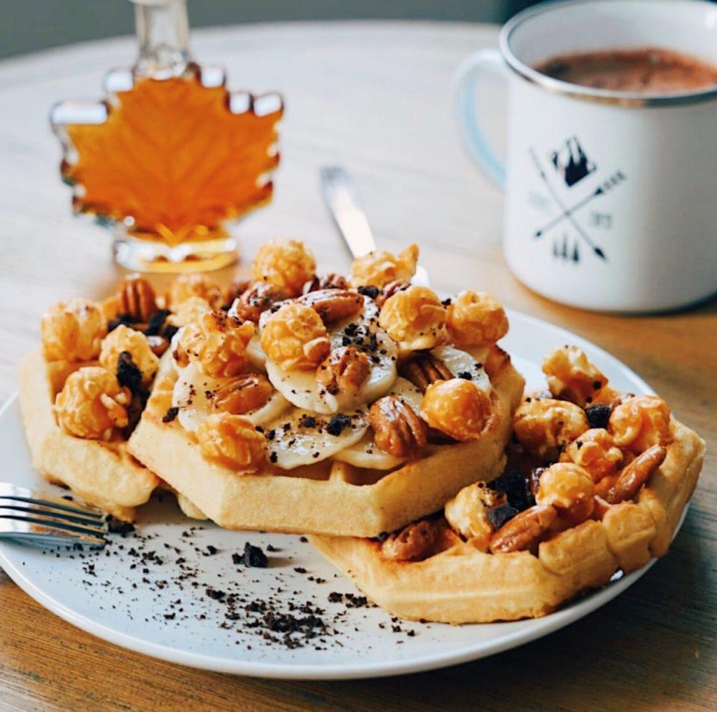 Ville de Québec : petit déjeuner