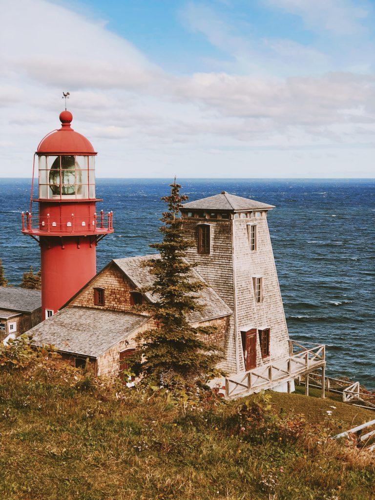 Phare de la pointe à la renommé : Québec