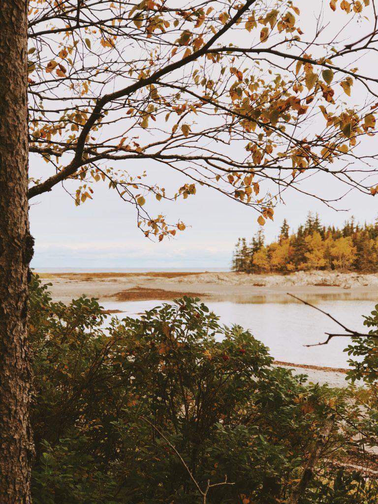 Québec : Parc du Bic