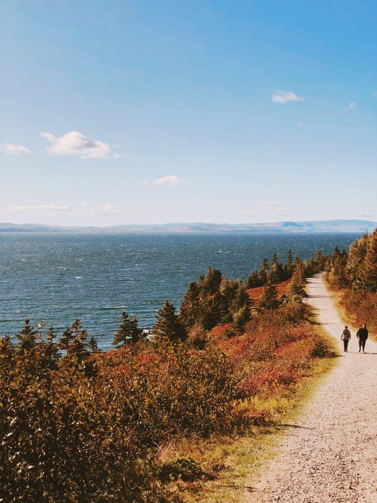 Cap Gaspé : Parc de Forillon : Québec