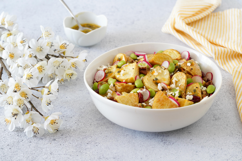 Salade de fraîcheur aux pommes de terre de primeur