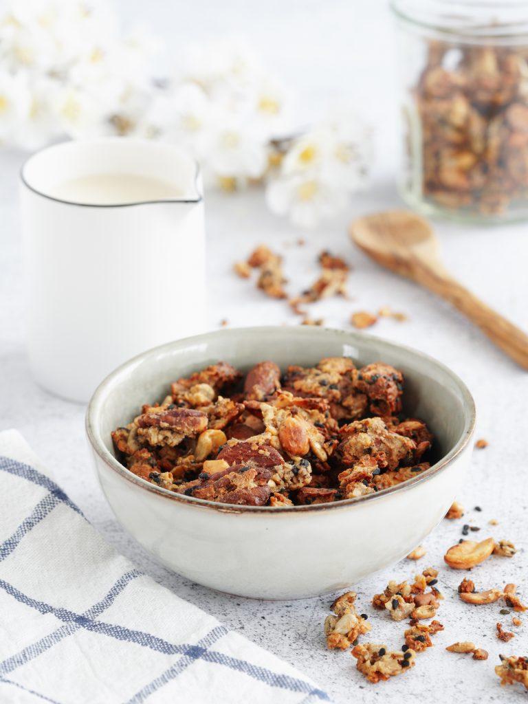 Granola aux graines & sirop d'érable