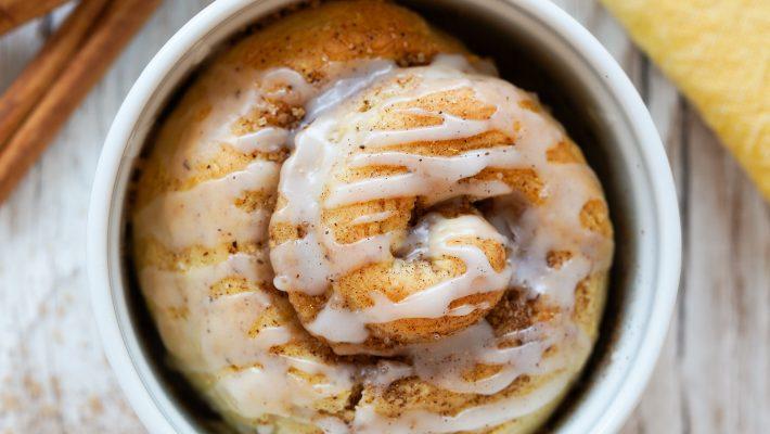 Roulé aux épices : comme un cinnamon roll. Express et individuel