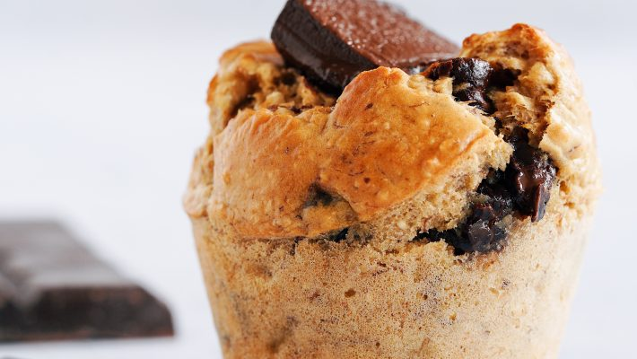 Muffin Coulant Extra Chocolat