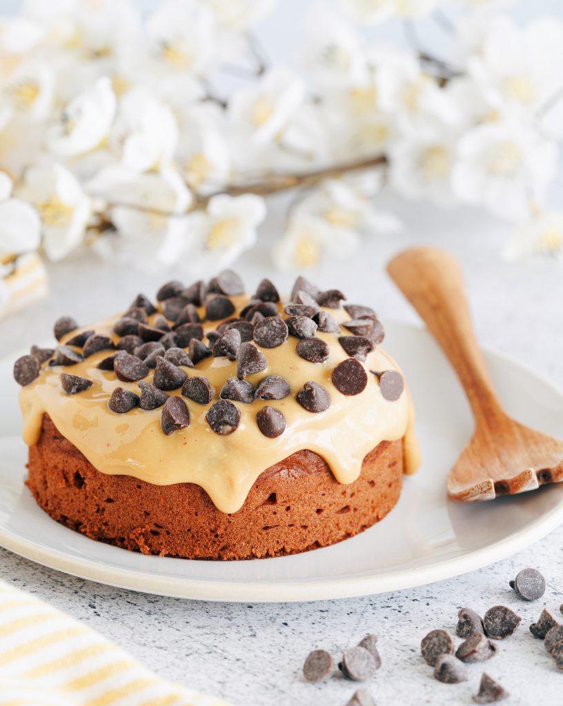 Gâteau fondant soufflé au chocolat