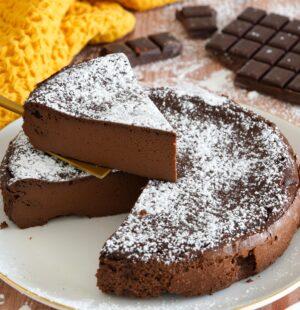 Gâteau au chocolat Mousseux & Fondant