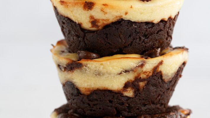 Cheesecake saveur Brownie façon Muffins