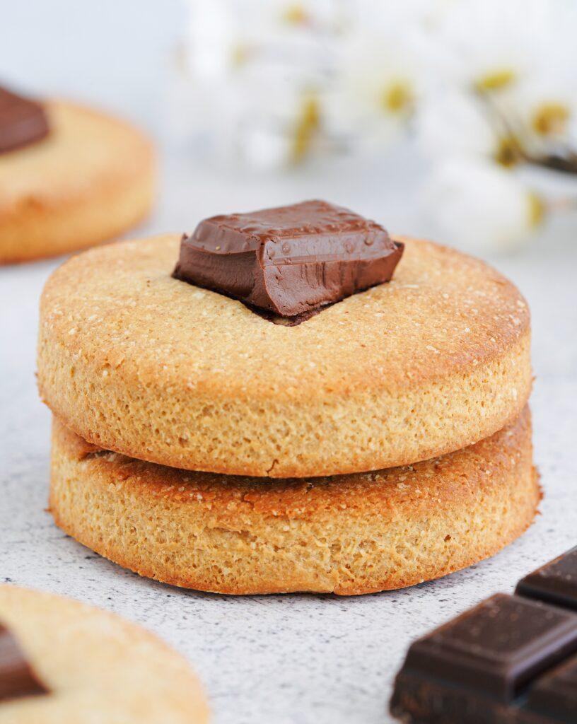 Biscuits amande & chocolat