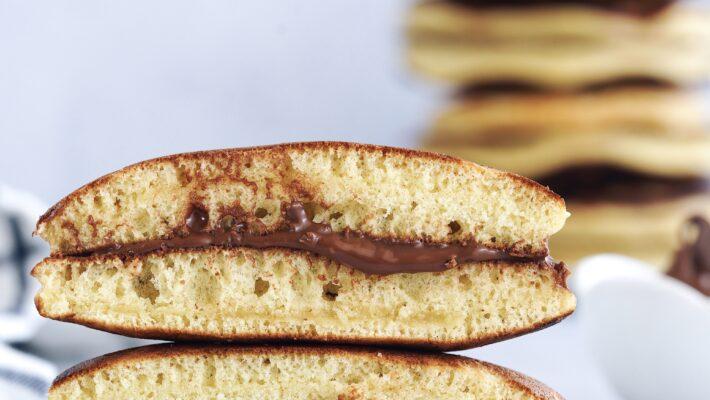 Dorayaki : au chocolat